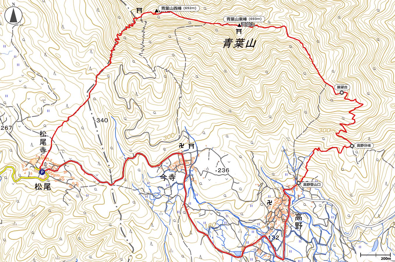 青葉山地図