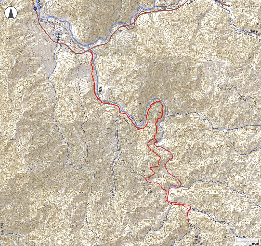 愛知川地図
