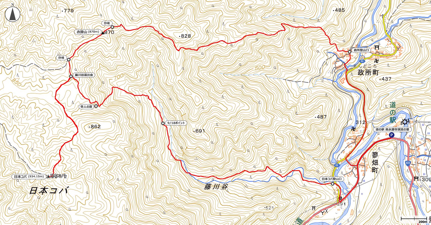 日本コバ地図