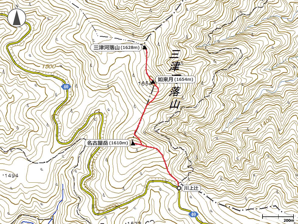 三津河落山地図
