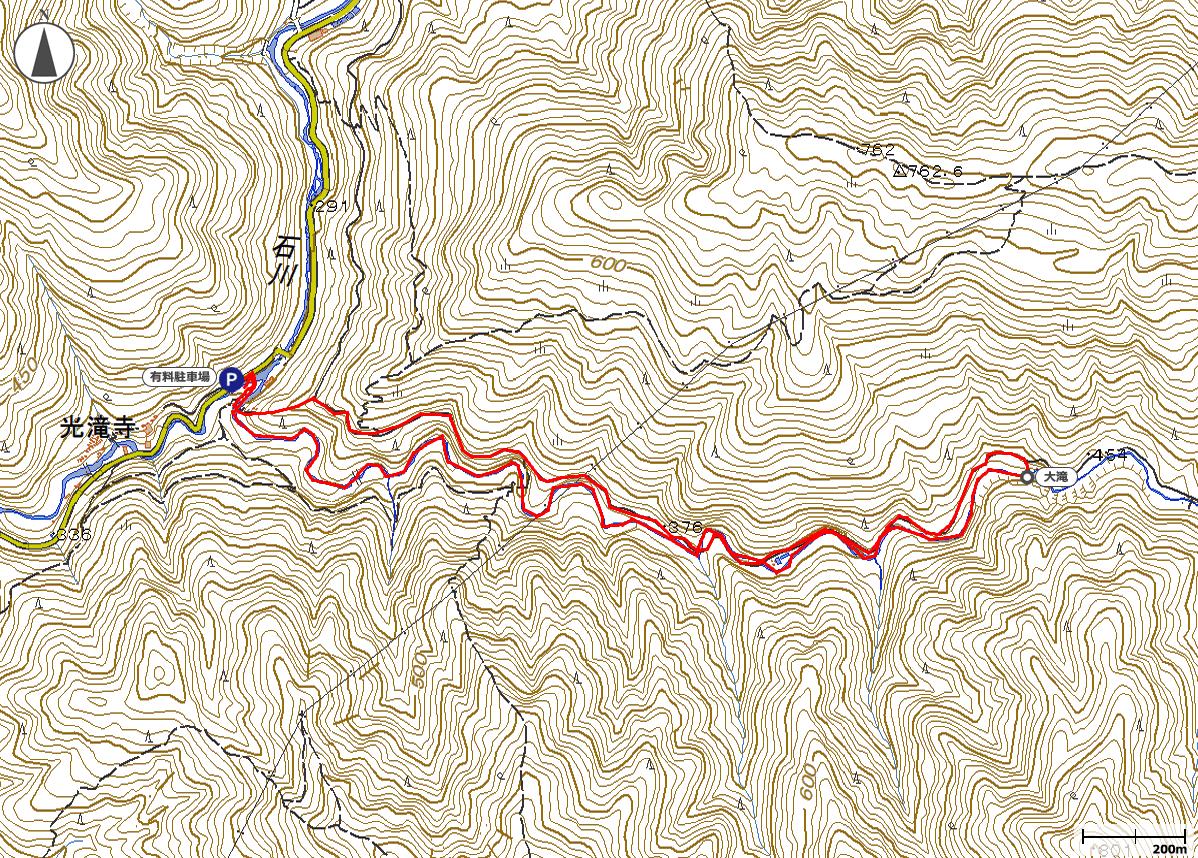 千石谷遡行地図