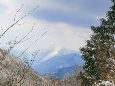 先週登った高見山・・・この山の形かっこいい!!!槍ヶ岳みたい!