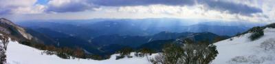 三峰山よりパノラマ